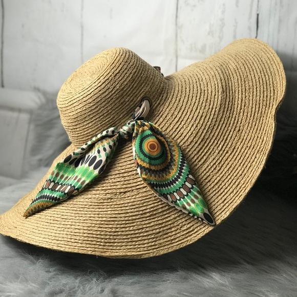 5eb5a83422fcd San Diego Hat Company Accessories | San Diego Hat Co Floppy Raffia ...